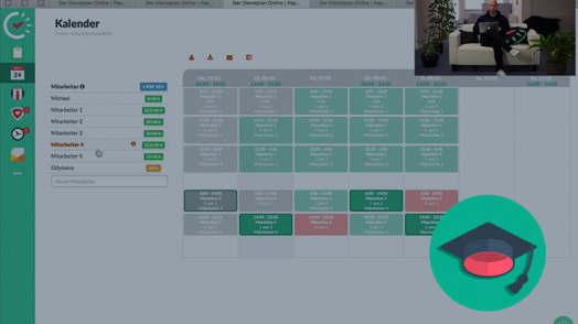Arbeitszeitmodelle vereinfachen die Arbeit mit Papershift