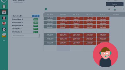 Wir zeigen Ihnen, wie Sie mit Papershift den Schichtplan für eine Produktion mit einem 3-Schichtenmodell einrichten können