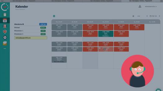 Wir zeigen Ihnen wie sie schnell und einfach einen tyoischen Einzelhandel-Account für die Dienstplanung mit Papershift modellieren können