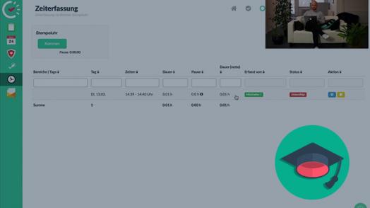 Mit Papershift kannst du aus verschiedenen Zeiterfassungsmethoden auswählen, z.B. der Browser-Stempeluhr