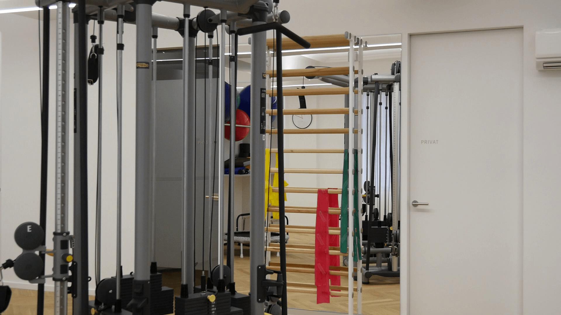 Raumplanung im Praxiswesen bei Physiozentrum