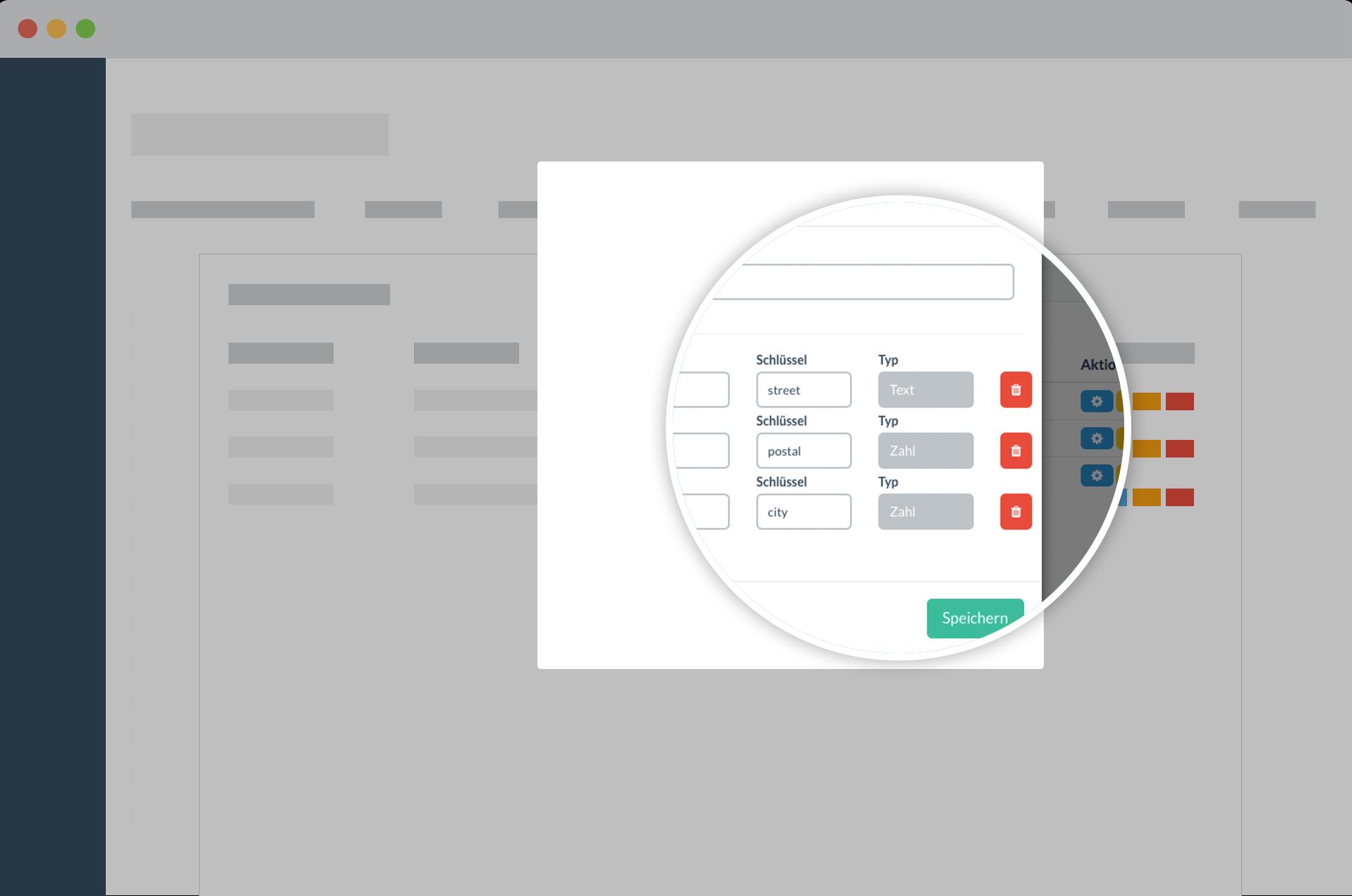 Erstellen Sie mit Papershift Dokumente mit beliebigen Datentypen und-feldern