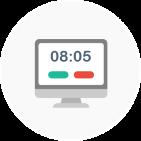 Die Browser-App zur mobilen Zeiterfassung mit Papershift
