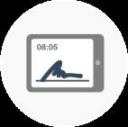 Die Terminal-App zur mobilen Zeiterfassung mit Papershift