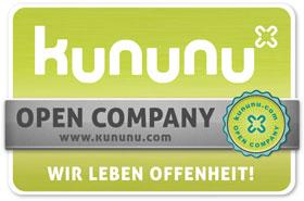 "Kununu Siegel ""Open Company"""