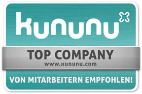 "Kununu Siegel ""Top Company"""