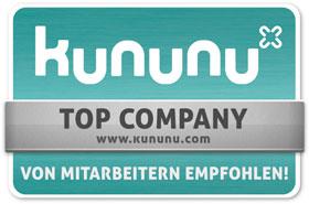 "Kununu Siegel ""Top Company"""