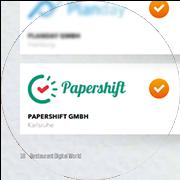 Screenshot des Testberichts über Papershift in der Restaurant Digital World #4