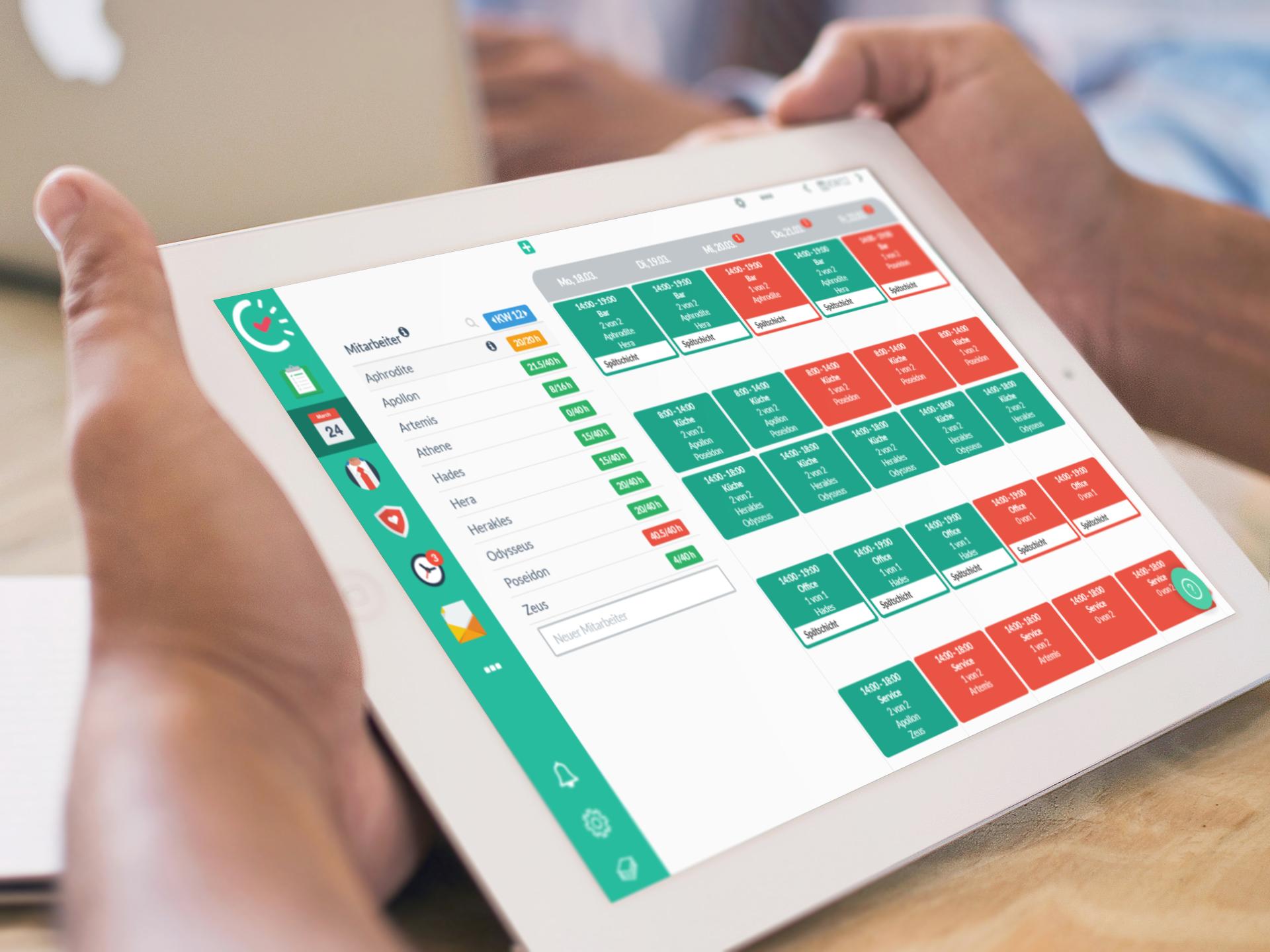 6 Gründe gegen die Excel Dienstplanung