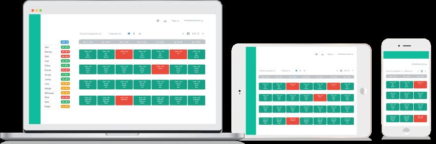 Shift planning app for work rota online