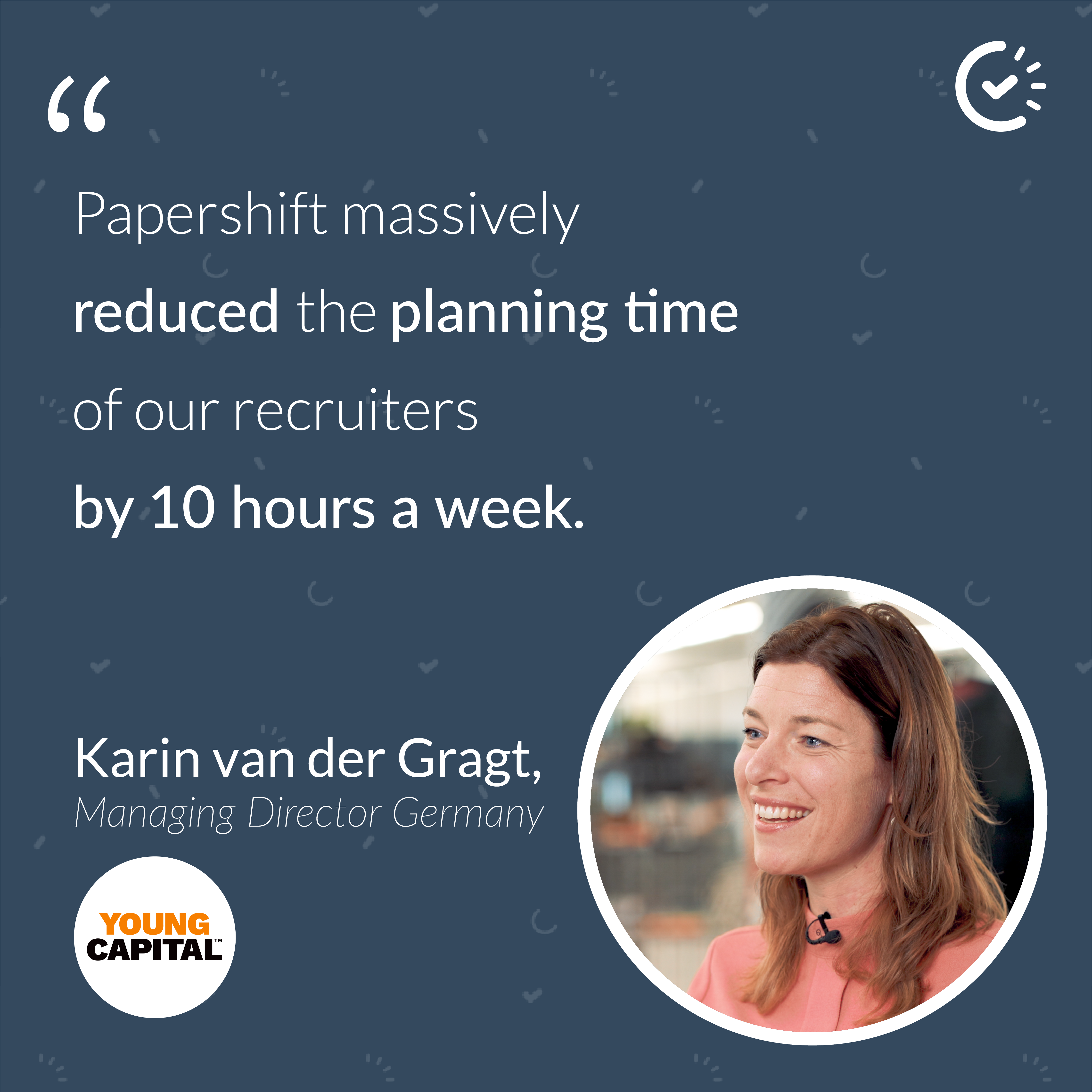 YoungCapital reduce their planning hours after using Papershift scheduling software