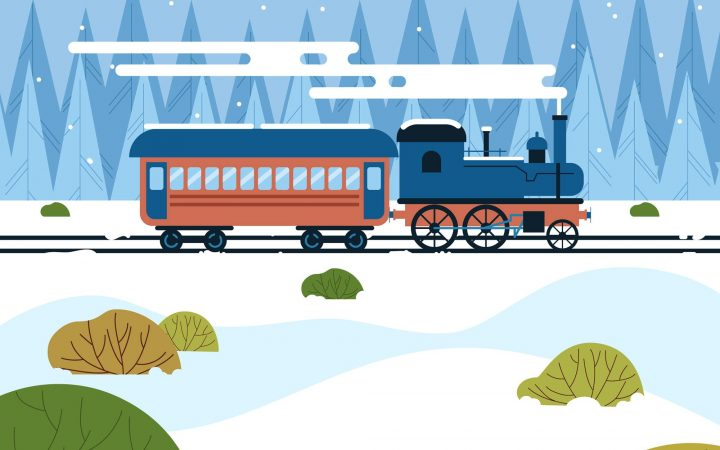 Illustrative DArstellung der Blombergbahn
