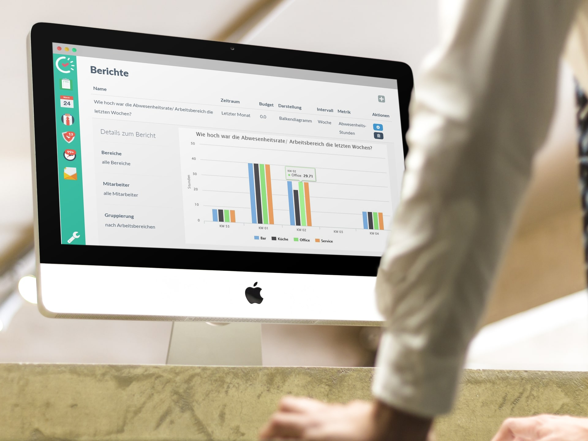 Online Dienstplan: Verbesserung der Performance